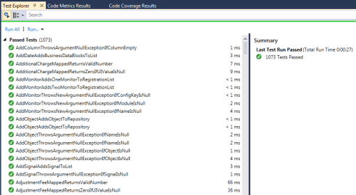 Visual Studio 2012 - Test Explorer