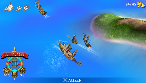 Sid Meier's Pirates : Sony PSP