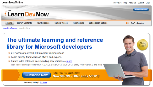 LearnDevNow - Online Video Training