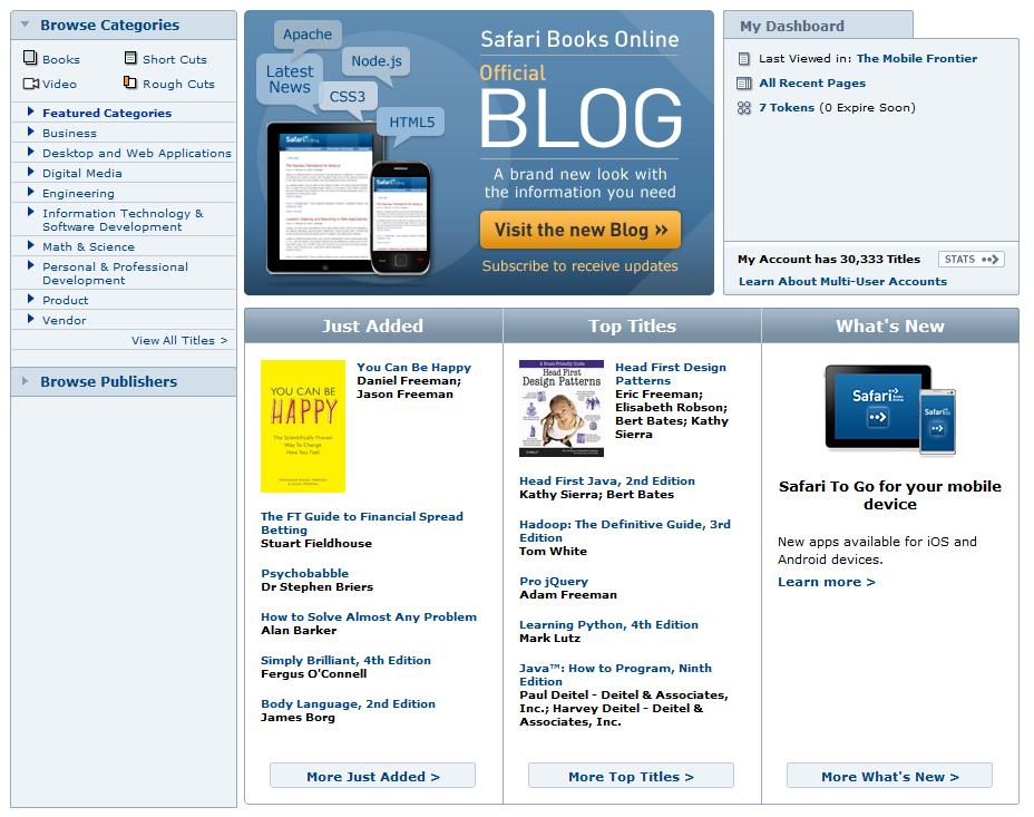 Bookshelf Online.
