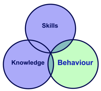 Training for Software Developers : Knowledge, Skills, Behavior