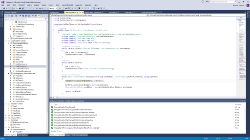 Visual Studio 2013 Integrated Development Environment