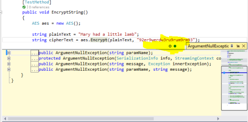 Visual Studio 2013 Nested Code in Peek Definition