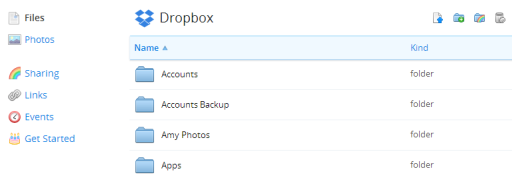 Dropbox : Online Cloud Storage