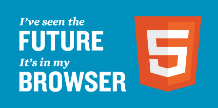 The future is HTML 5