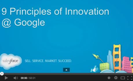 Googles 9 Principles of Innovation