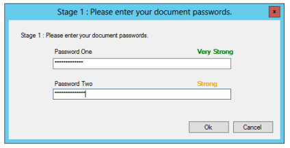 Password Strength Indicator in SafePad