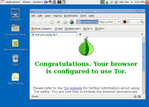 Tails Linux Distribution