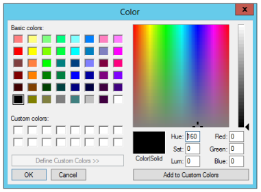 Safe Pad Color Selector