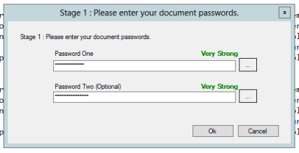 Safe Pad Password Entry Screen