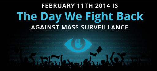The Day we Fight Back Against Mass Surveillance.