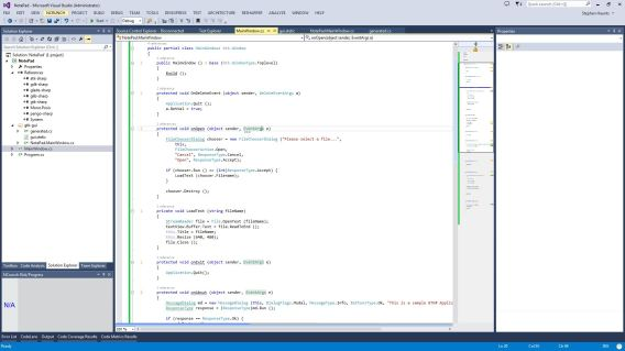 GTK# Development in Visual Studio 2013