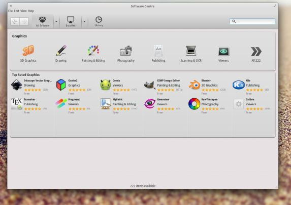 Elementary OS - Software Centre