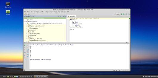 Linux Mint PyCharm