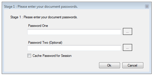 Passwords Can Now be Cached for a Session.