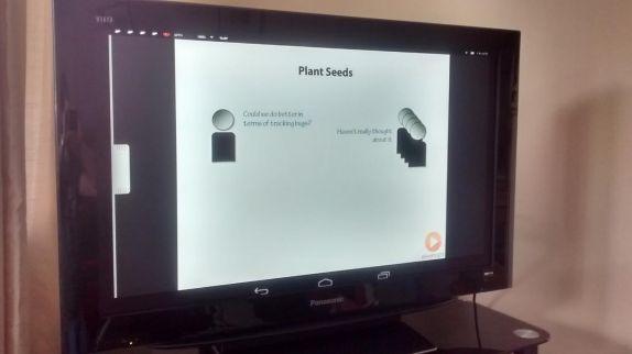 Screencast Pluralsight to TV