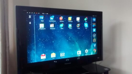 Screencast Tablet Screen
