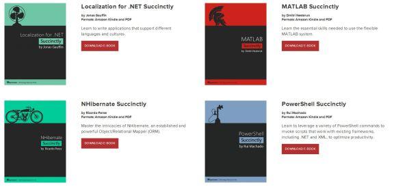 Syncfusion FREE EBooks
