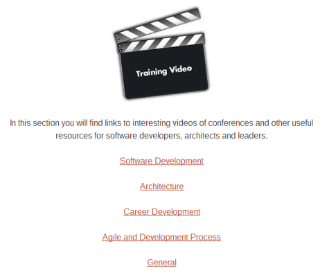 Useful Training Videos @ {Coding in the Trenches}