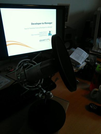 Pluralsight Course Microphone Setup