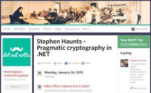 Meetup at DotNet Notts