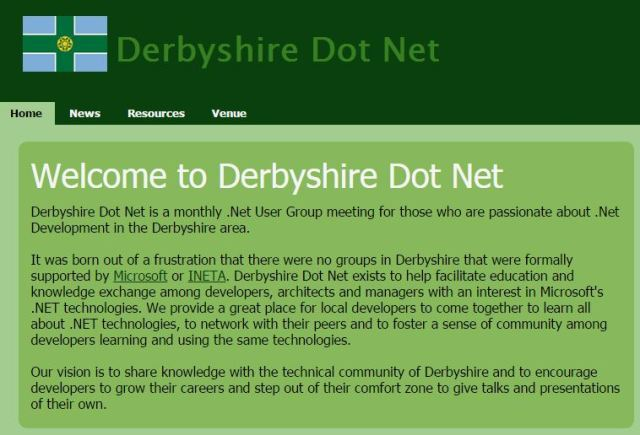 Cryptography in .NET talk at the Derbyshire Dot Net User Group