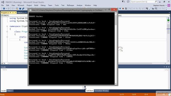 Practical Cryptography in .NET Coming Soon to Pluralsight