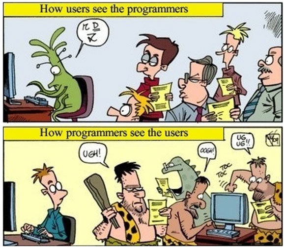 How Programmers See Users