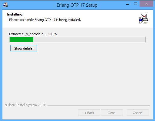 Installing the Erlang Runtime