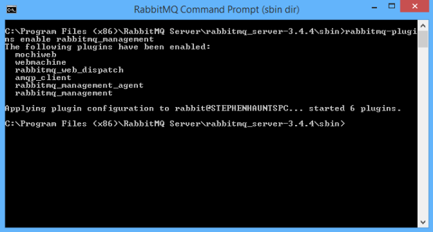 Configure the RabbitMQ Management Portal