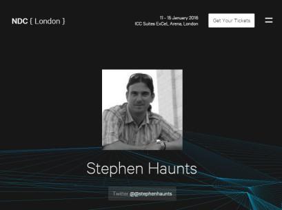 NDC London - Stephen Haunts - Cryptography in .NET