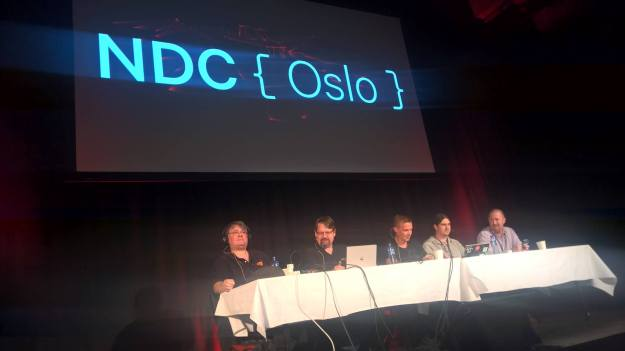 DotNet Rocks live Security Panel Show at NDC Oslo