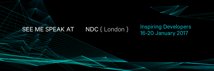 Stephen Haunts Speaking at NDC London 2017