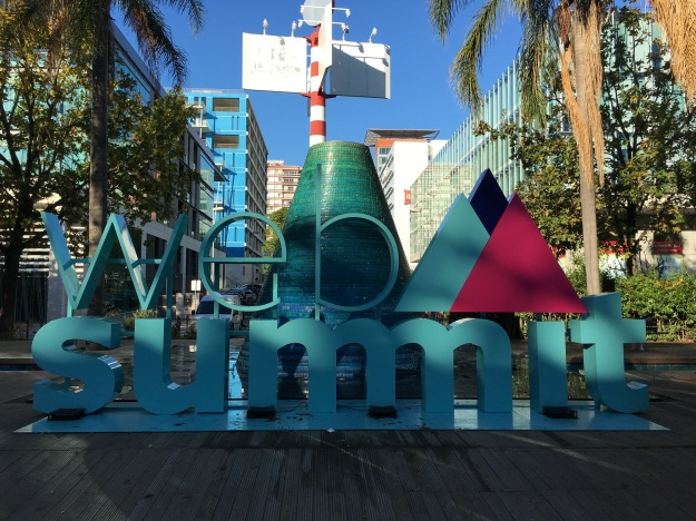 RightIndem visiting Web Summit 2016 in Lisbon