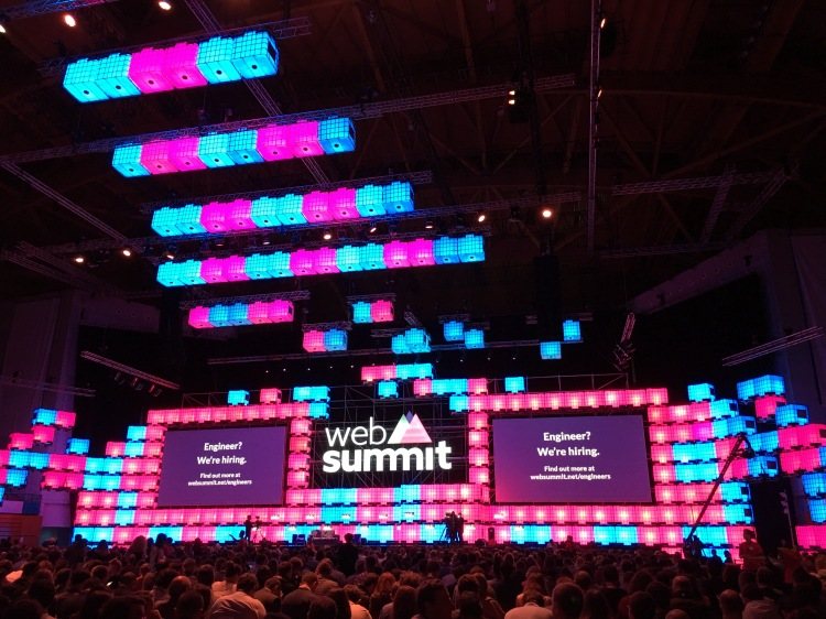 The main arena at Web Summit 2016