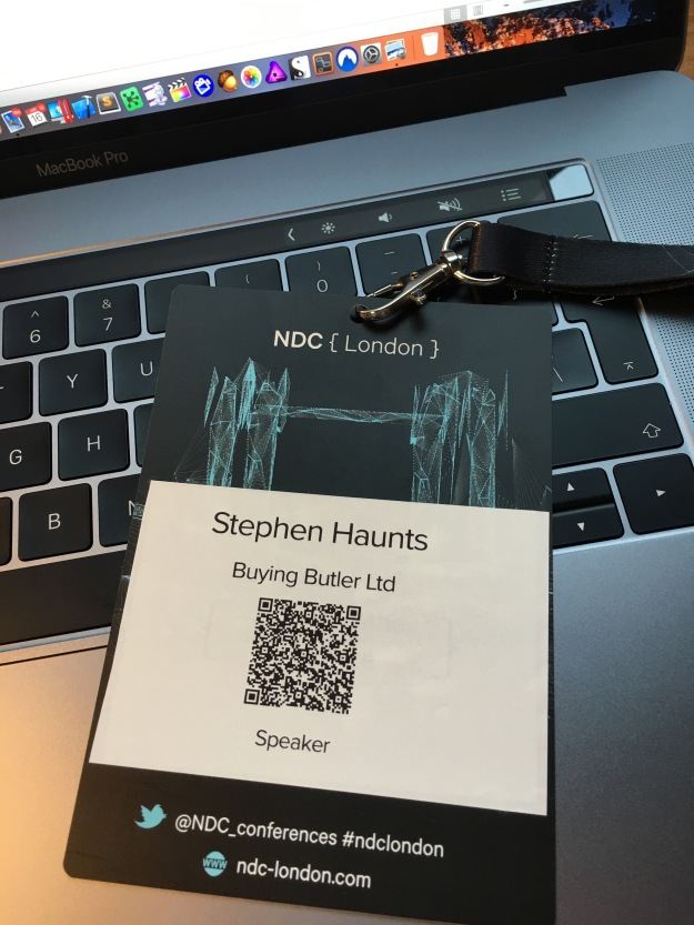 Stephen Haunts at NDC {London} 2017