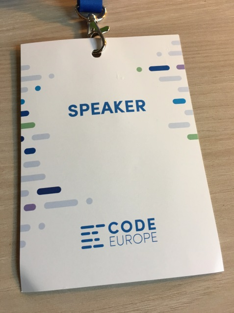 Code Europe Conference in Poland