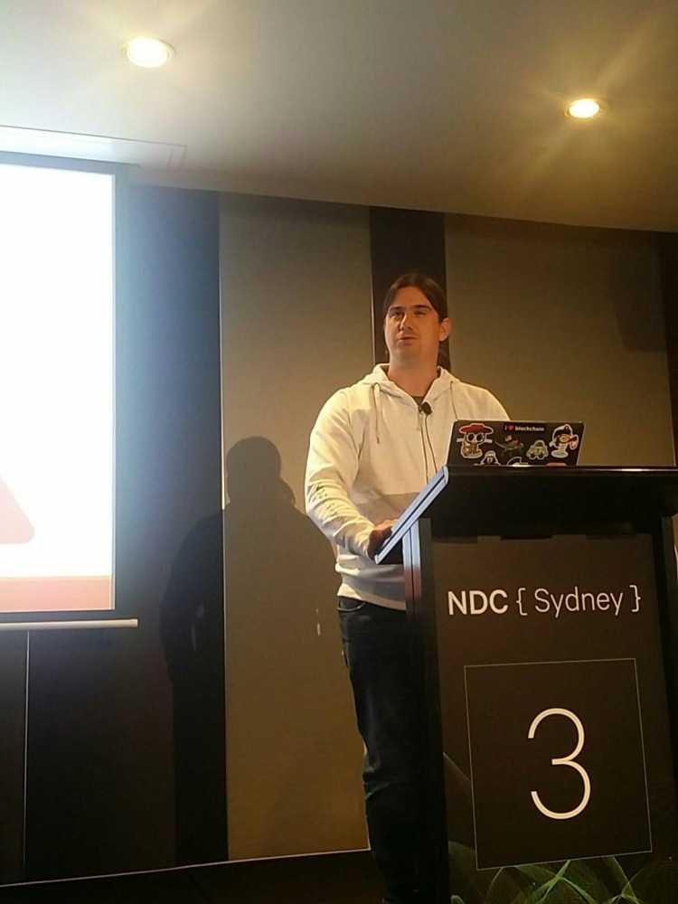 Stephen Haunts at NDC Sydney