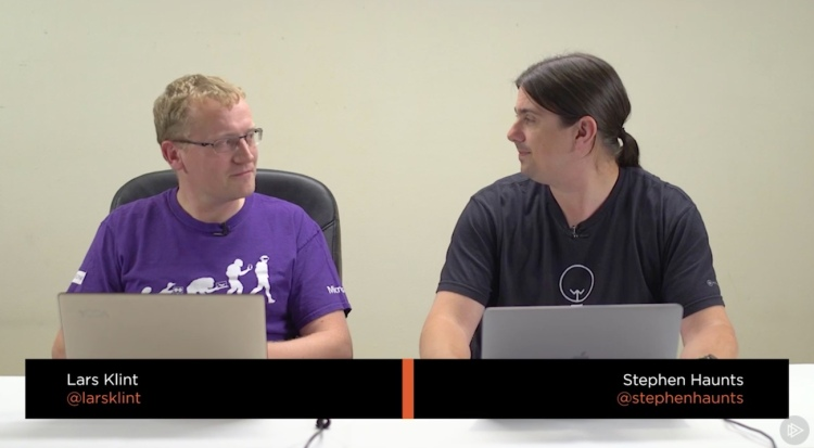 Play by Play Course at Pluralsight with Stephen Haunts and Lars Kint