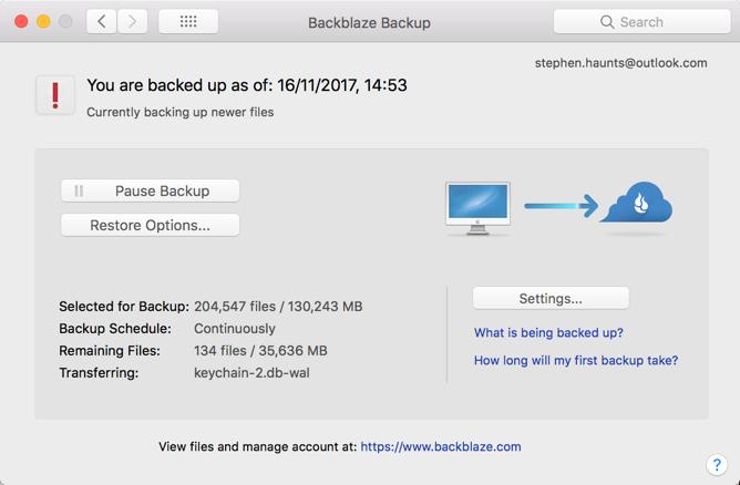 BackBlaze : Cloud Based Backup System