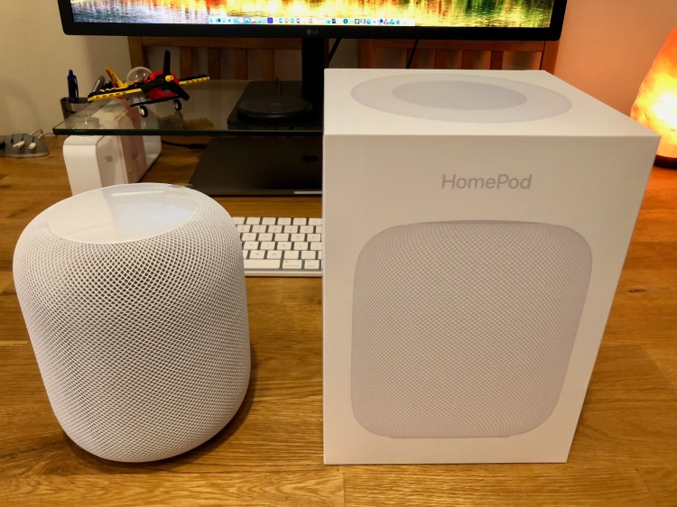 Unboxed Apple HomePod
